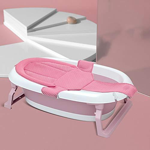 Temperatuurgevoelige babybadje, pasgeboren kunnen zitten en liggen in de badkuip, opvouwbaar en telescopische, draagbare opslag, beschikbaar voor 0-6 jaar oud,C