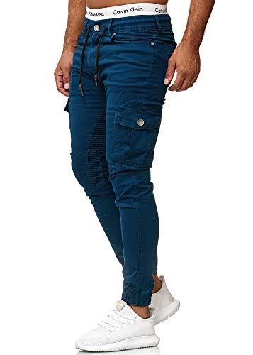 OneRedox Herren Chino Pants | Jeans | Skinny Fit | Modell 3207 Navy 36/32