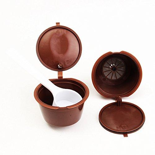 Lovinn Steel Drive Shaft, 2 stks Koffiemachine Capsules Dolce Gusto Oplaadbare Herbruikbare Koffie Emohome