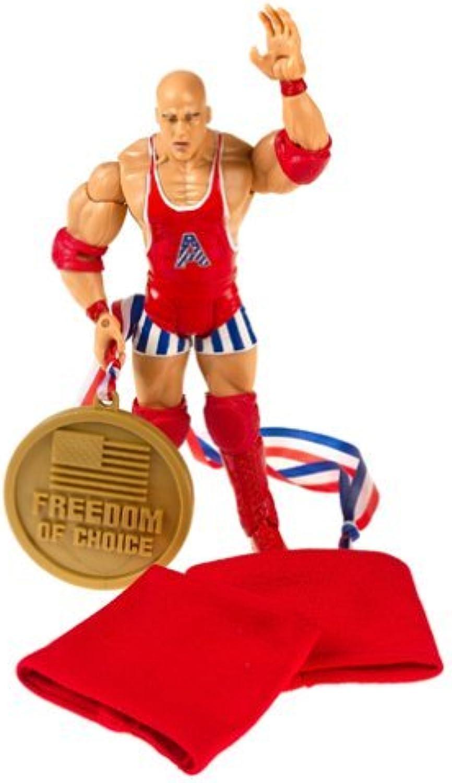 contador genuino Wrestlemania XXI XXI XXI Series II Signature Gear Figura  Kurt Angle by Jakks Pacific  comprar ahora