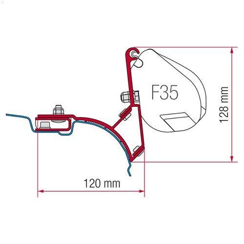Fiamma Adapter F35 Pro Kit VW T5 Multivan / Transporter (ohne Aluschiene)