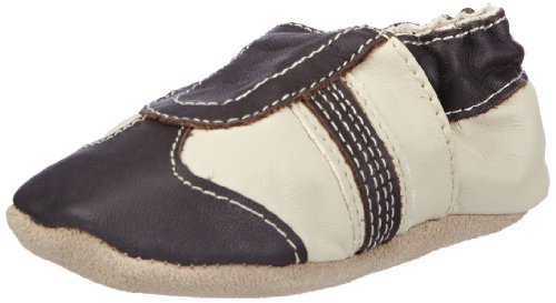 Jack & Lily 0-6 Trainer Brown, Chaussons Premier âge bébé - Marron - Braun (Coffee), 28/29 EU