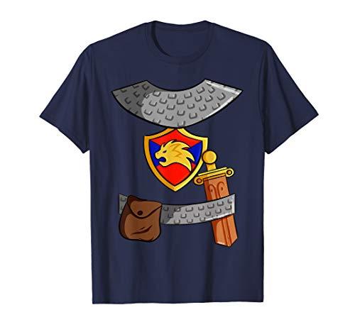 Ritter Kostüm T-Shirt Kinder Mittelalter Fasching Halloween T-Shirt