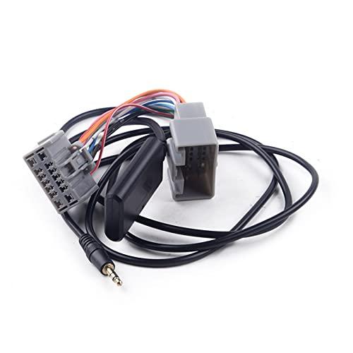 FSLLOVE Nuevo Audio Bluetooth de 14 Pin Auxiliar Cable Adaptador Ajuste para Volvo C30 S40 V40 V50 S60 S70 C70 V70 XC70 S80 XC 90