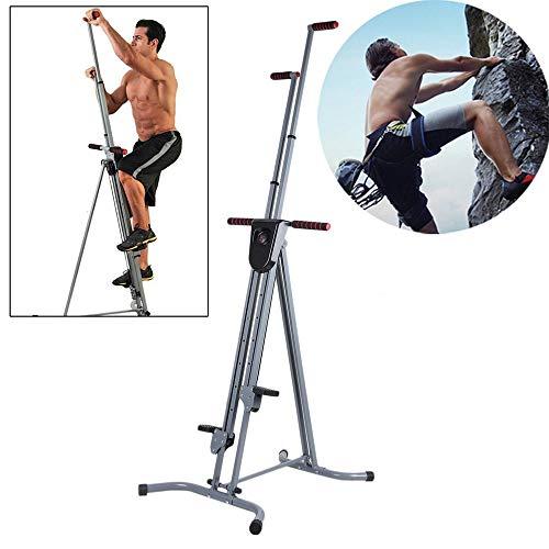 WXH Multifunktions-Vertikal-Kletter-Cardio, Fitness-Kletter-Ganzkörper-Trainingsgerät, Treppen-Stepper-Training, für den Heim-Body-Trainer