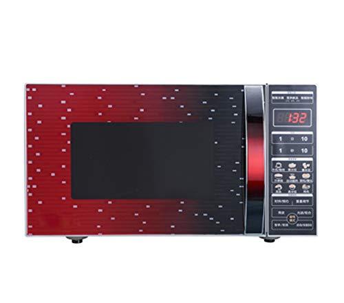 Horno Microondas sobre Encimera, Horno Microondas con Control Táctil Digital De 700W, con Grill/Capacidad 20L /Control De Descongelación Y Cancelación/Temporizador Digital/Electrodomésticos De Cocina