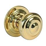 Amig 6748 - Pomo puerta de entrada Mod. 50, Latón, Acabado pulido, Medida 70 mm de diámetro