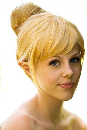 LadyMYP Mädchen Karneval Kostüm Tinkerbell Fasching Perücke für Erwachsene und Kinder