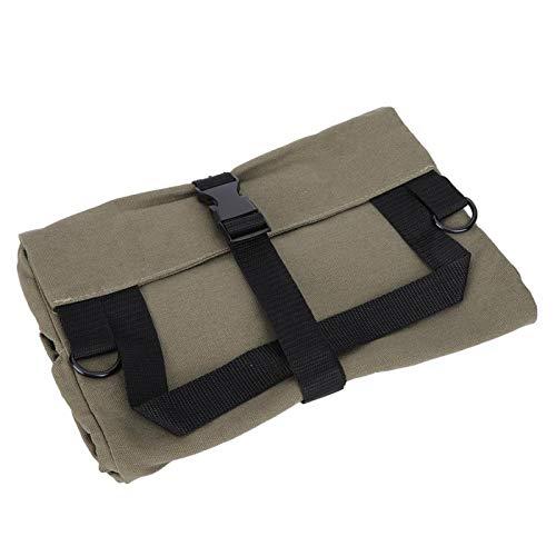 La bolsa de herramientas, la herramienta portátil de la llave inglesa de la lona enrolla para arriba la caja de las bolsas del organizador del bolso del almacenamiento