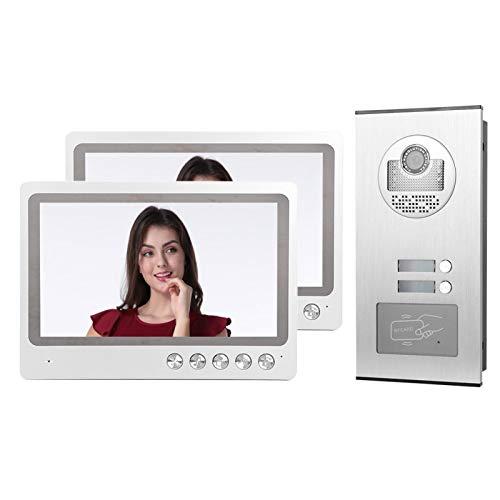 DAUERHAFT Portero automático de 9 Pulgadas con Sistema de Seguridad de videoportero Digital(European regulations)