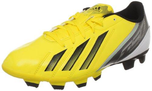 adidas Performance F5 TRX FG, Scarpe da Calcio Uomo, Giallo (Giallo (Vivid Yellow S13 / Black 1 / Green Zest S13), 41 1/3 EU