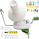Yarn Winder by Craft Destiny - Easy to Set Up and Use - Hand Operated Yarn Ball Winder 4 Ounce Capacity -...