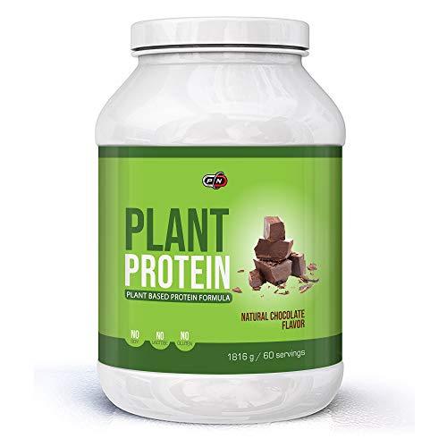 Plant Based Protein Powder Blend Chocolate|6 Sources Pea Rice Hemp Pumpkin Sunflower Carob|Probiotics Digestive Enzymes|Gluten Lactose Soy Dairy Free|Natural Sweetener Stevia Vegan|15|30|60 Servings