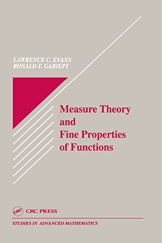 Measure Theory and Fine Properties of Functions (Studies in Advanced Mathematics Book 5) (English Edition)