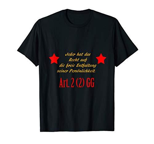 Grundgesetz Artikel 2 T-Shirt