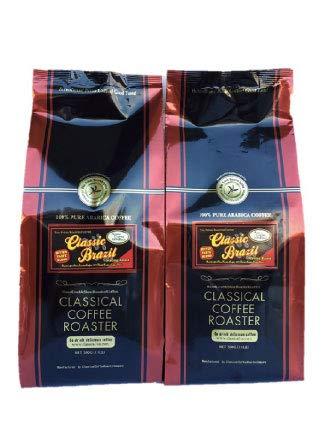 コーヒー豆 クラシカルコーヒーロースター 100%アラビカ豆 クラシックブラジル Combo 1kgセット 500g×2袋 極細挽 送料無料