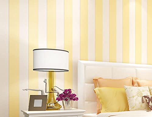 Papel pintado tejido no tejido Rayas verticales mediterráneas modernas y sencillas Decoración de Pared decorativos Murales moderna de Diseno Fotográfico,embellece muebles sin brillo 0.53m*9.5m=5.0㎡