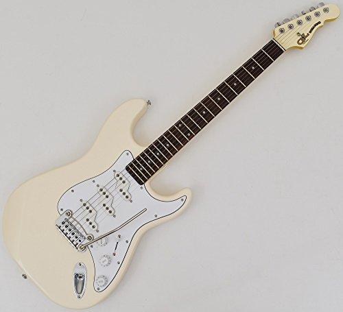 Guitarra eléctrica G&L Tribute Series Comanche – blan