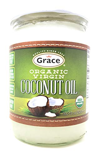 Grace Premium Organic Virgin Coconut Oil, 16.5 Ounce