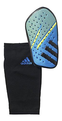 adidas Schienbeinschoner Ghost Climacool, Shock Blue S16/Semi Solar Slime/Core Black, L