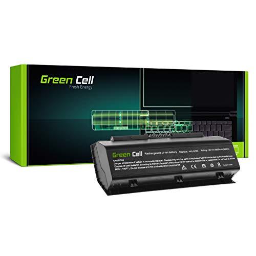 Green Cell A42 G750 Laptop Akku fur Asus G750 G750J G750JH G750JM G750JS G750JW G750JX G750JZ 8 Zellen 5900mAh 150V Schwarz