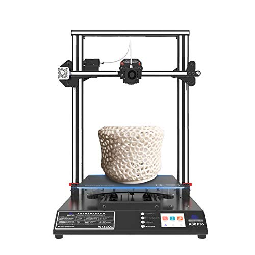 NaoSIn-Ni A30 Pro 3D Printer, Large Metal FDM 3D Printer Resume Printing Function Touch Screen High Precision Printing Print Size 320 * 320 * 420mm