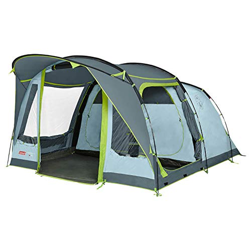 Coleman tent Meadowood 4, camping tent 4 persons, large family tent with 2 extra large darkened...