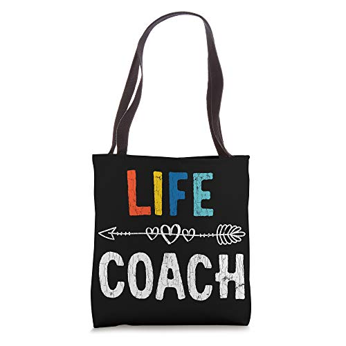 Funny Life Coach Design For Coaching Mentor Tote Bag
