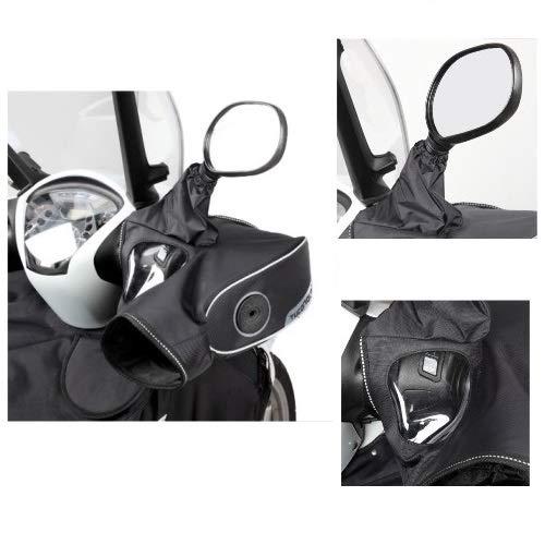 pour X-Max 400 MomoDesign ABS 2014 – 2018 coprimanopole r334 Tucano Urbano pour haltères avec miroirs en Nylon Poignées imperméable