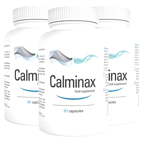 Calminax - 90 Cápsulas - Paquete de 5