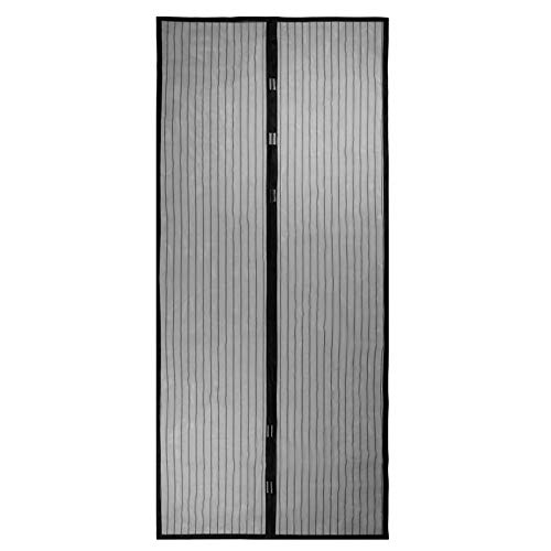 Deirdre Agnes Zomer anti-muggen- en vliegengordijnen sluiten automatisch het deurscherm raam keukengordijn hor 120x210cm
