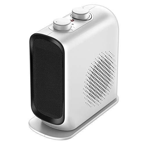 CMmin Tragbare Elektrische Einstellbare Thermostat-Lüfte Thermostat über Wärmeschutzheizung Haushaltsraum Keramik Tragbare Mini Small Office Desktop Quick Heißes Badezimmer