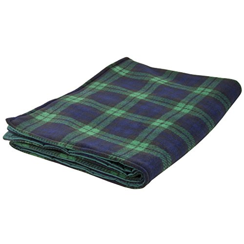Ability Superstore Black Watch Water Resistant Cosy Blanket