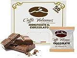 Caffè Vulcanus - 50 cialde compostabili ESE44 - Caffè aromatizzato al cioccolato
