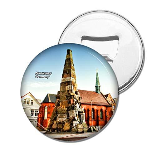 Weekino Deutschland Norderney Bier Flaschenöffner Kühlschrank Magnet Metall Souvenir Reise Gift
