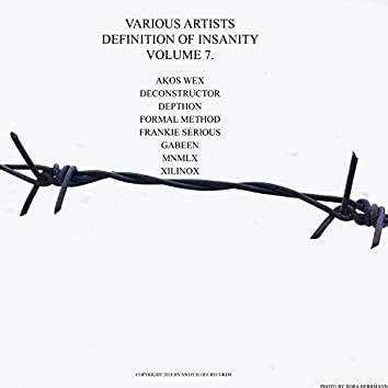 Various Artists - Definition Of Insanity Vol. 7.