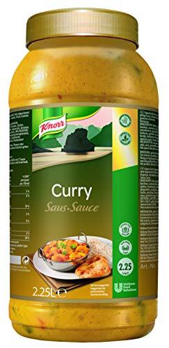 Knorr Curry Sauce (typisch asiatische Sauce mit leichter Schärfe) 1er Pack (1 x 2,25 L)