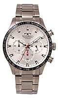 [テクノス] 腕時計 T6A72IS メンズ シルバー
