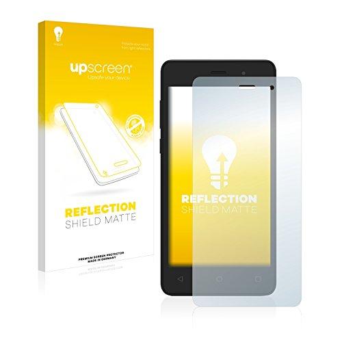 upscreen Entspiegelungs-Schutzfolie kompatibel mit Archos 45d Platinum – Anti-Reflex Bildschirmschutz-Folie Matt