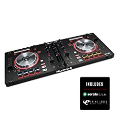 Next Generation Feature Packed Controller : Ultra Portable two deck DJ Controller for Serato DJ Intro (Included) for Mac and PC with high resolution 5 inch metal jog wheels Connectivity Covered : On board pro grade class compliant audio interface wit...