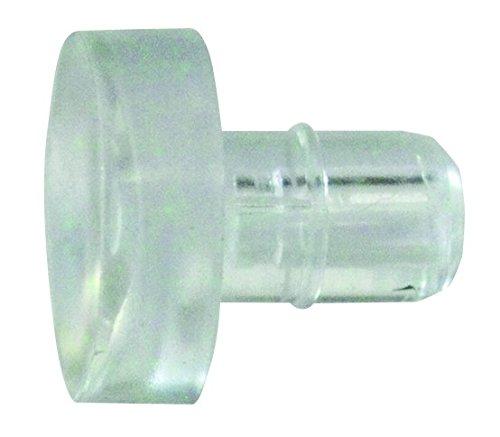 HSI 655822.0 Glasplattenträger Kunststoff transparent 5mm 50 St Stück