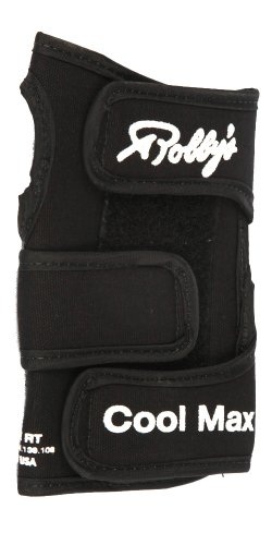 Robby's Coolmax Original Right Wrist Support, Black, Small