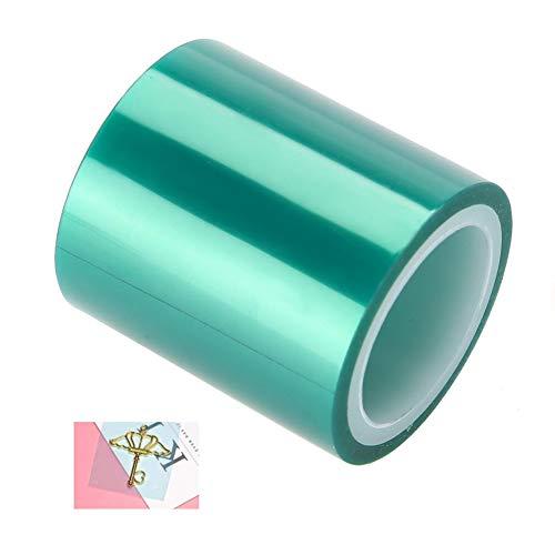 Green Craft Tape Nahtloses Klebeband ohne Spuren für Hohlrahmen Metal Expoy UV-Harz Handwerk offene Lünette DIY-Hilfswerkzeug für die Herstellung von Charm-Anhängern Metal Craft - PET Film