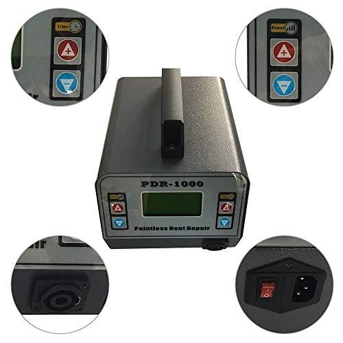 Auto Paintless Dent Repair Tool, PDR Heizung Maschine elektromagnetische Induktion Pit Repair Machine Hot Box Entfernen von Beulen Blatt Gray