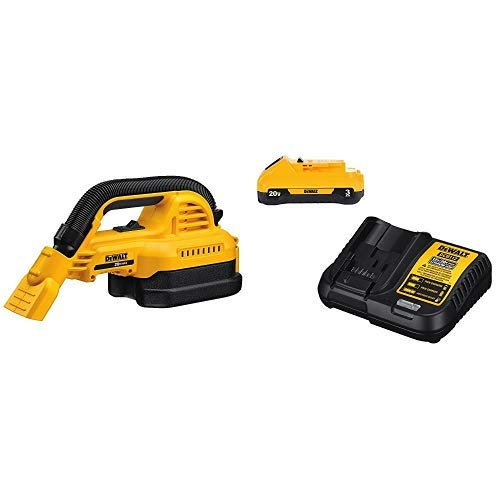 Product Image of the DEWALT DCV517B Baretool 20V MAX Cordless 1/2 gallon Wet/Dry Portable Vac Kit (Tool Only) with DCB230C 20V Battery Pack