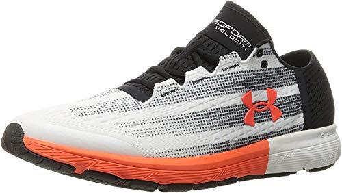 Under Armour Herren Men's Speedform Velociti Running Shoes Laufschuh, weiß/schwarz, 41 EU