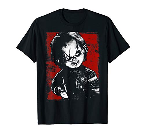 Child's Play Chucky Distressed Portrait T-Shirt