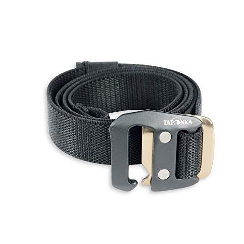 Tatonka Gürtel Stretch Belt 25 mm, Black, 110 x 2,5 cm