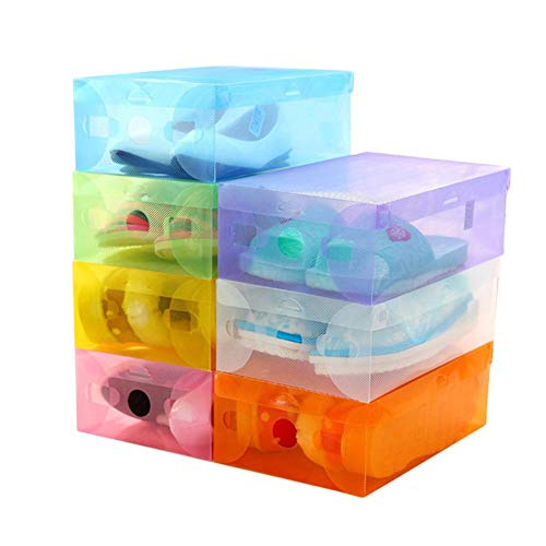 Luminiu Caja para Zapatos, plástico, Tipo de cajón, Almacenamiento para Zapatos, Caja de Cristal