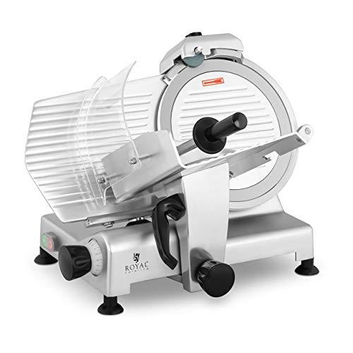 Royal Catering RCMS-300MM Gastro Aufschnittmaschine Allesschneider Wurstschneidemaschine 30cm 1,5cm 420W